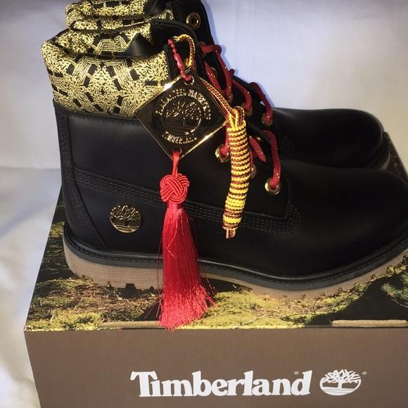 Timberland Chinese New Year Premium Boots NWT